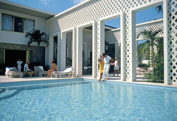 Home of architect Arturo Pani in Acapulco, Mexico, January 1971.
