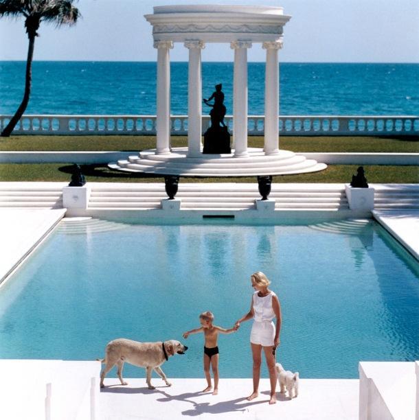 American writer C.Z. Guest in Palm Beach