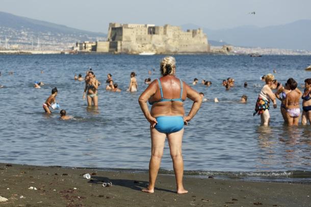 ITALY. Naples. 2014.