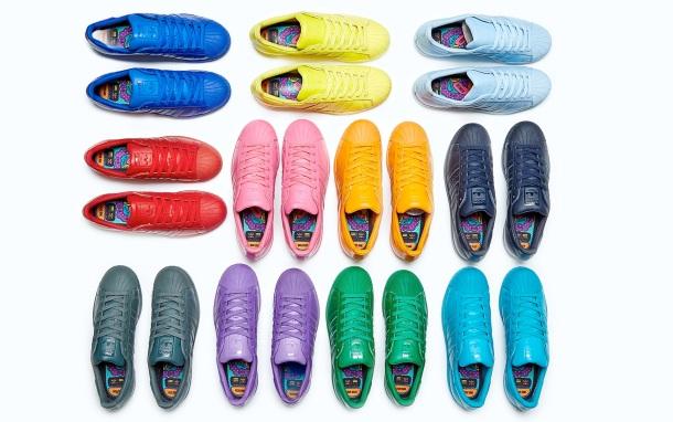 """Pharrell Williams X Adidas Orgiginals """"Supercolor Superstar"""""""